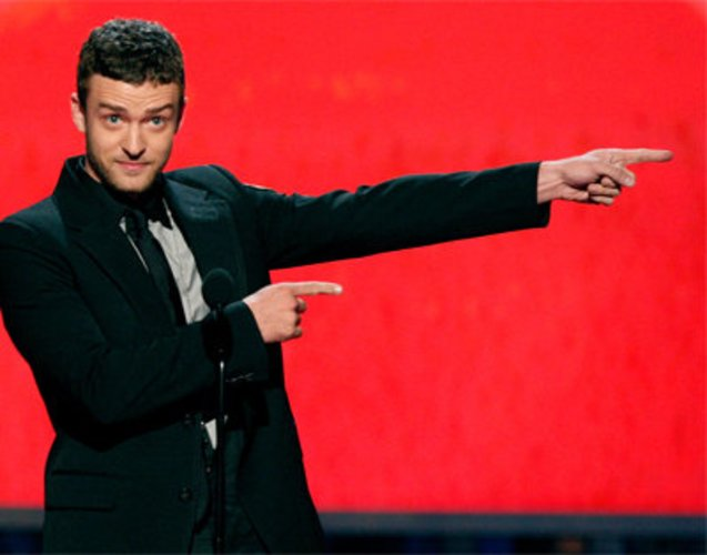 Justin Timberlake war Darsteller im Film The Social Network