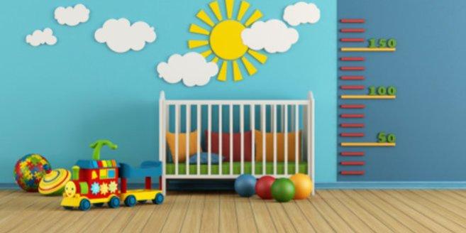Babyzimmer gestalten: Fröhliche Wandmotive