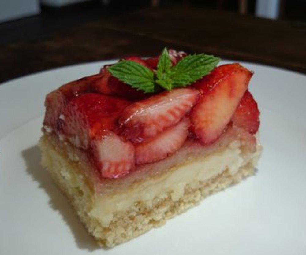 Erdbeerpoorten-Kuchen