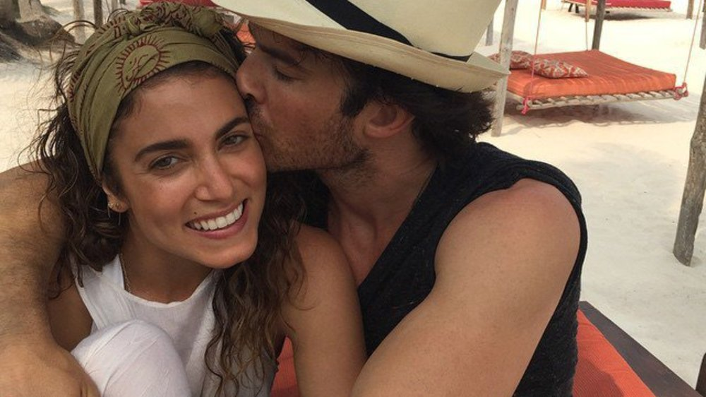 Ian Somerhalder & Nikki Reed: Im Honeymoon geht es heiß her!