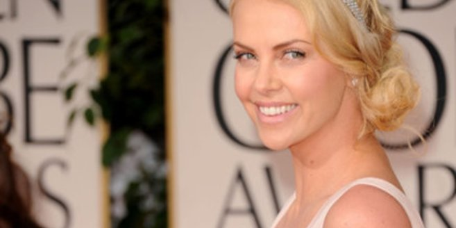 Charlize Theron Junge