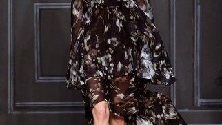 New York Fashion Week: Vera Wang zeigt sich von ihrer dunklen Seite