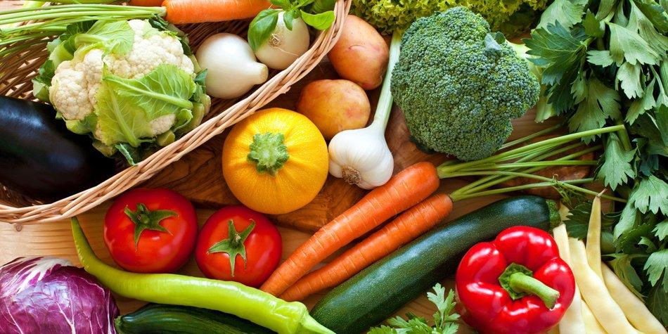Basische Lebensmittel Liste
