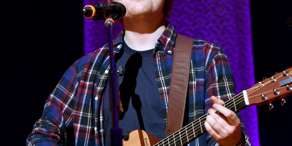 Ed Sheeran auf Platz 1
