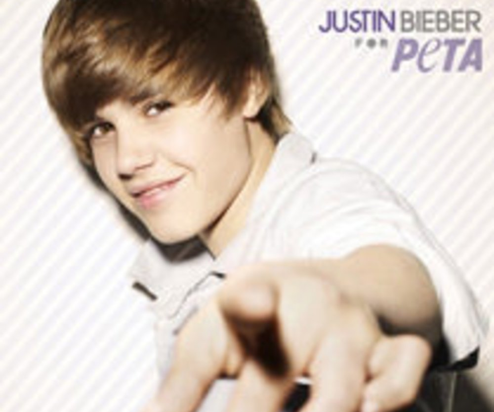 Justin Bieber unterstützt PETA