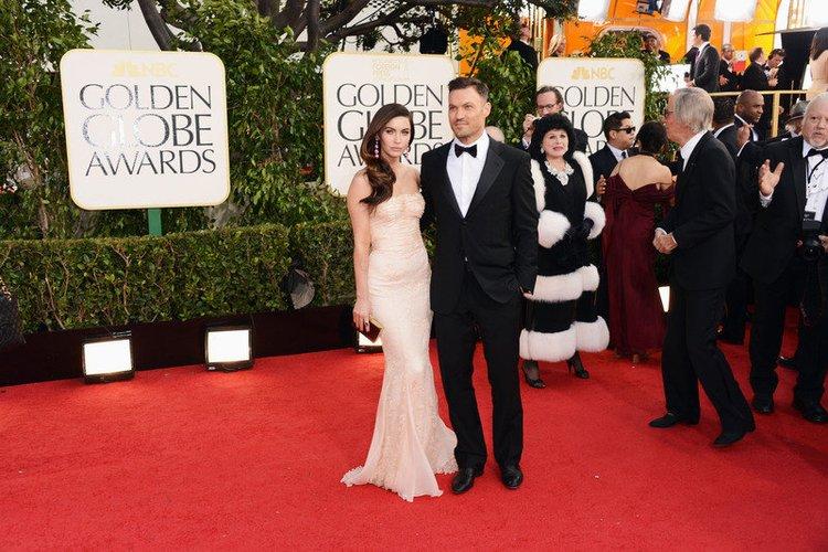 Megan Fox ist auf den Golden Globes