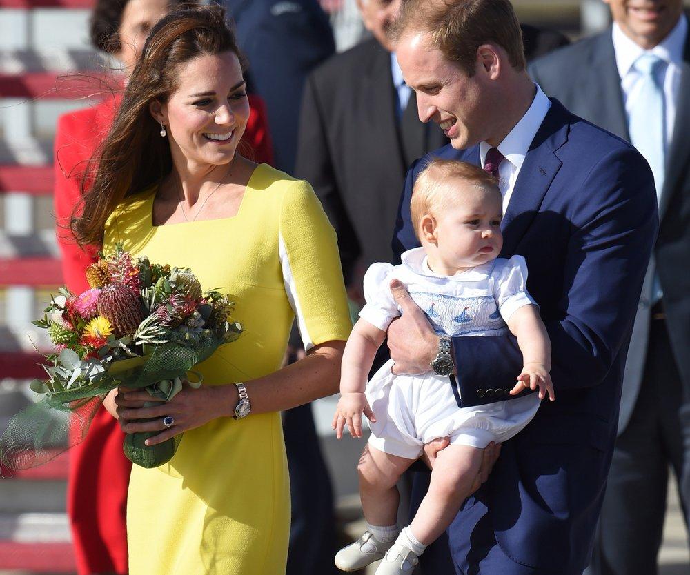 Kate Middleton und Prinz William: Prinz George bekommt eine Glocke
