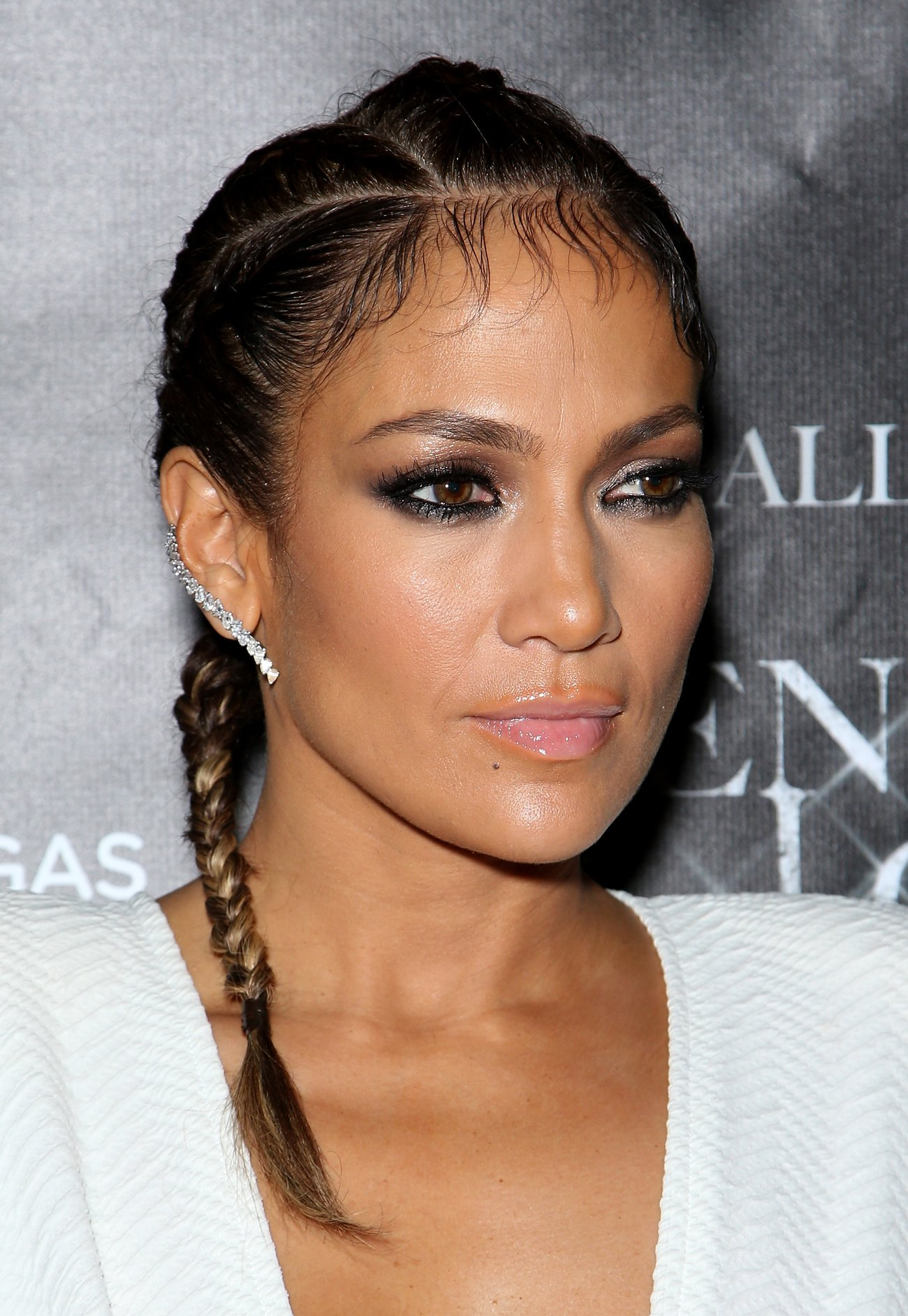 Jennifer Lopez Baby Hair