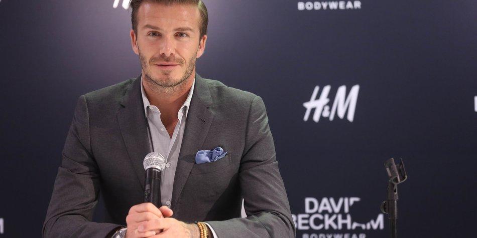 David Beckham als nächster James Bond?