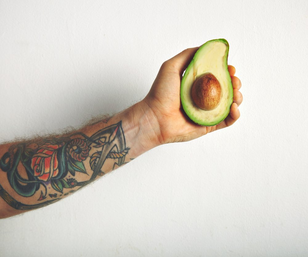 braune Avocado