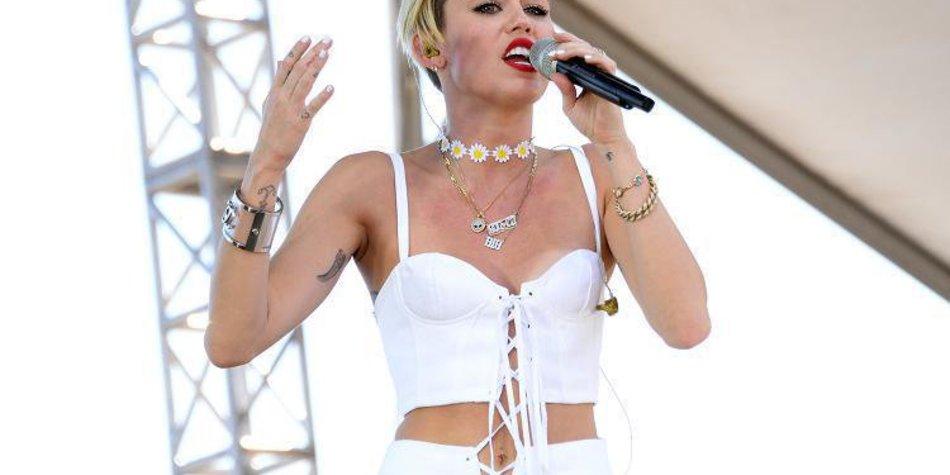 Miley Cyrus: Tränen auf der Bühne!