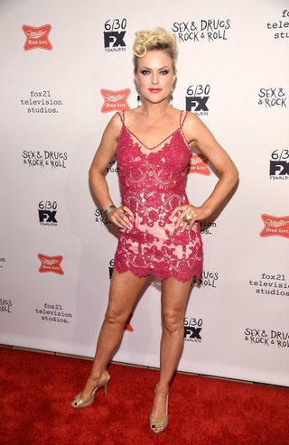 "NEW YORK, NY - JUNE 28: Elaine Hendrix attends the ""Sex&Drugs&Rock&Roll"" Season 2 Premiere at AMC Loews 34th Street 14 theater on June 28, 2016 in New York City. (Photo by Dimitrios Kambouris/Getty Images)"