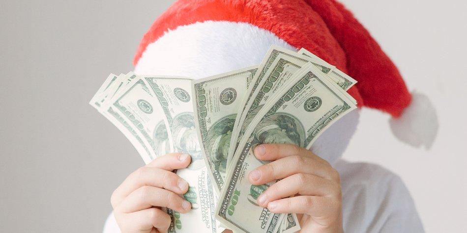 Geld pro Kind weihnachtsgeschenke