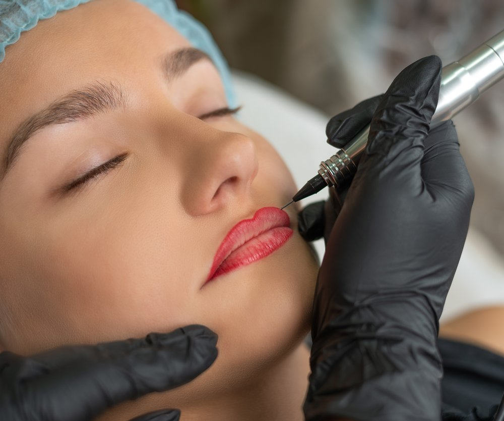 Permanent-Make-up Lippen