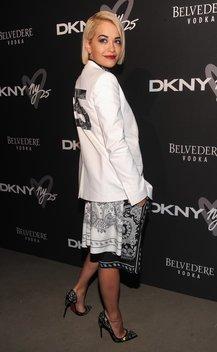 Rita Ora bei einem Event in New York