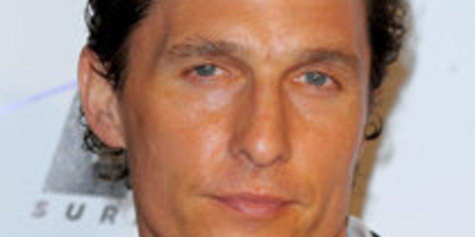 Matthew McConaughey: Heimliche Hochzeit?