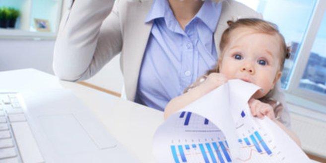 Mütter bekommen in der Ausbildung viel Unterstützung.