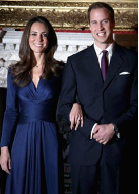 Kate Middleton und Prinz William feiern mit Diana