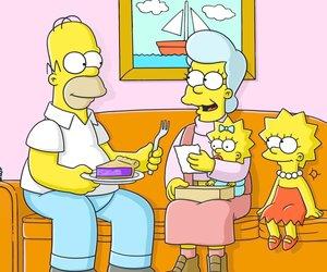 Die Simpsons mit Skorpion-Alarm