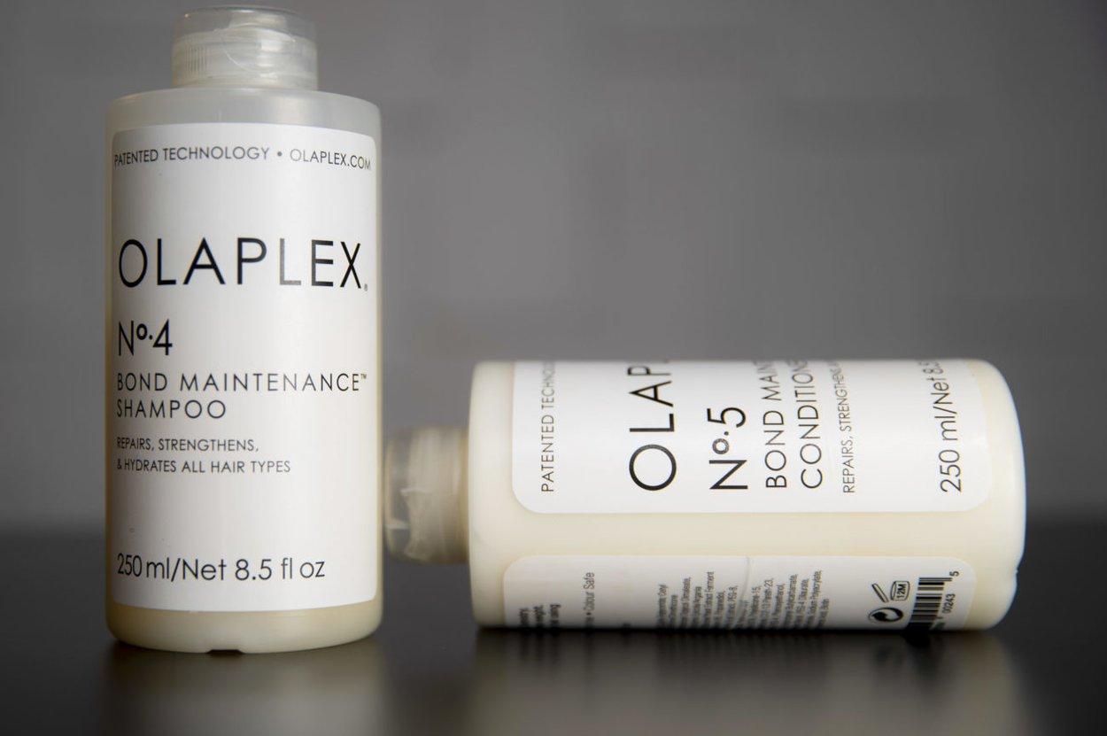 Olaplex Flaschen 4 und 5