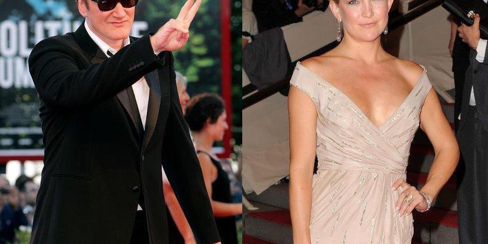 Quentin Tarantino fliegt auf Kate Hudson!