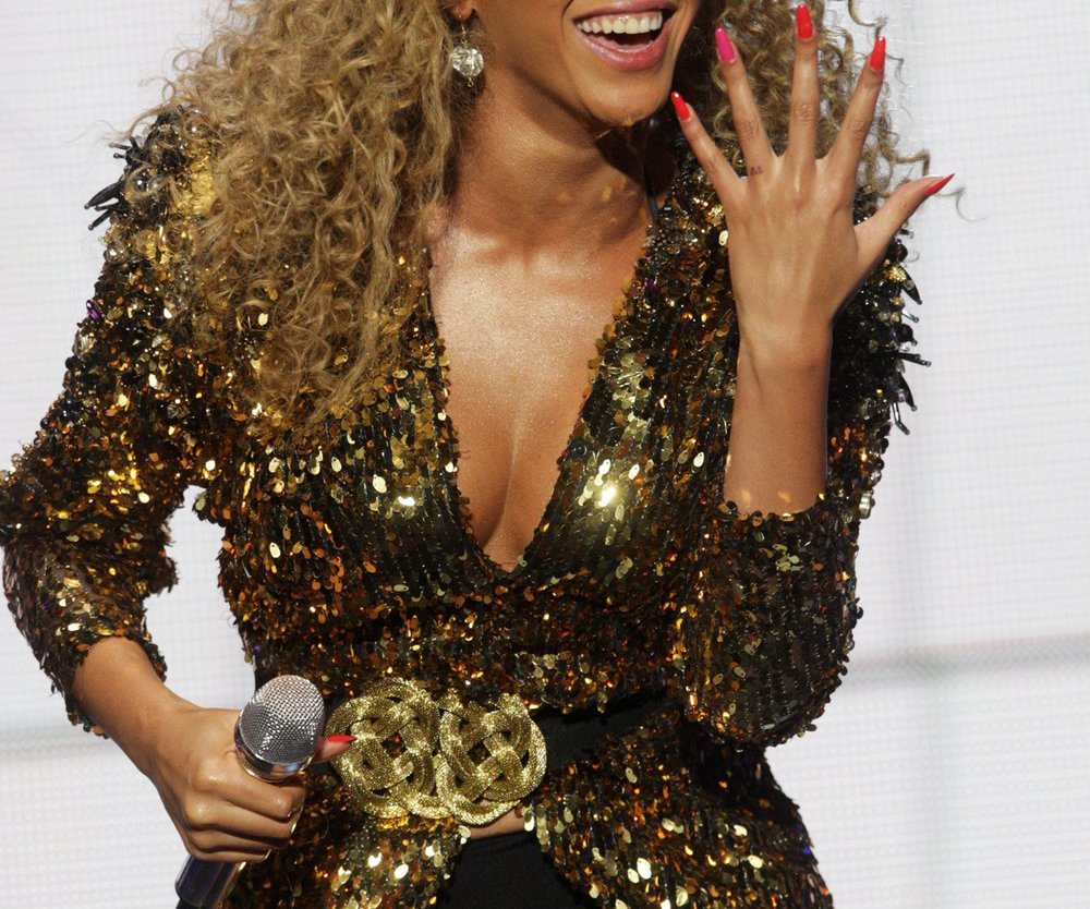 Beyonce Knowles rockt Festival
