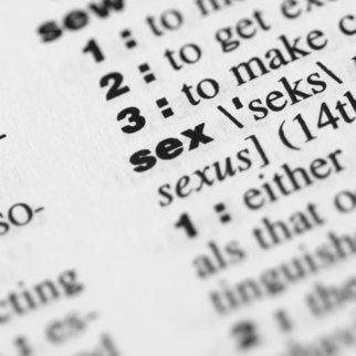 Sex Begriffe
