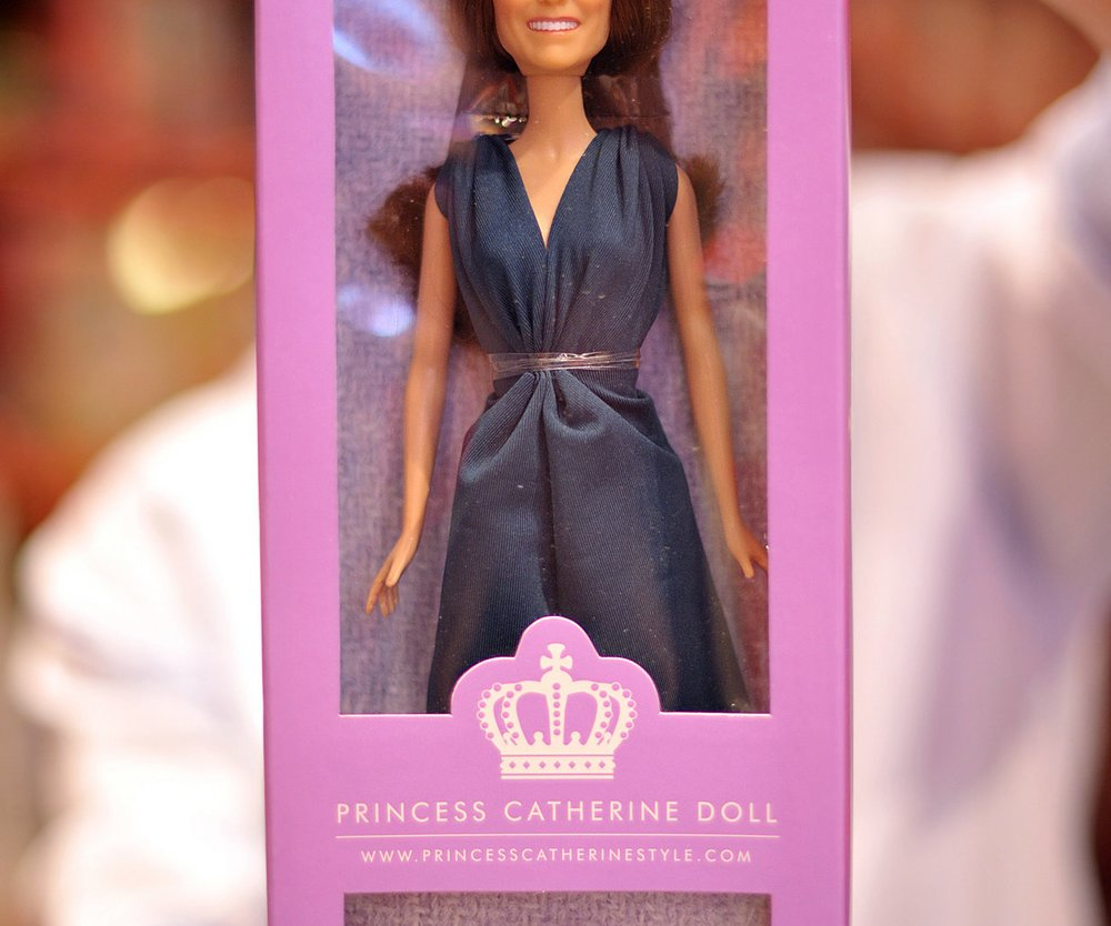 Kate Middleton: Braut-Barbie im Handel!