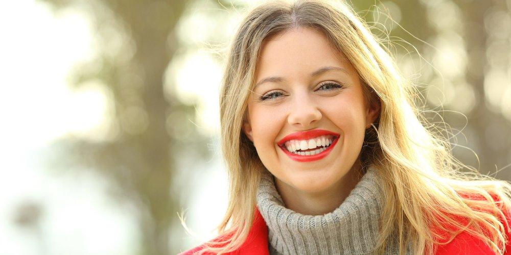 Mittel für weiße Zähne