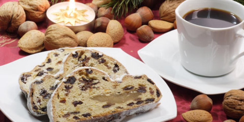 Leckeren Christstollen backen