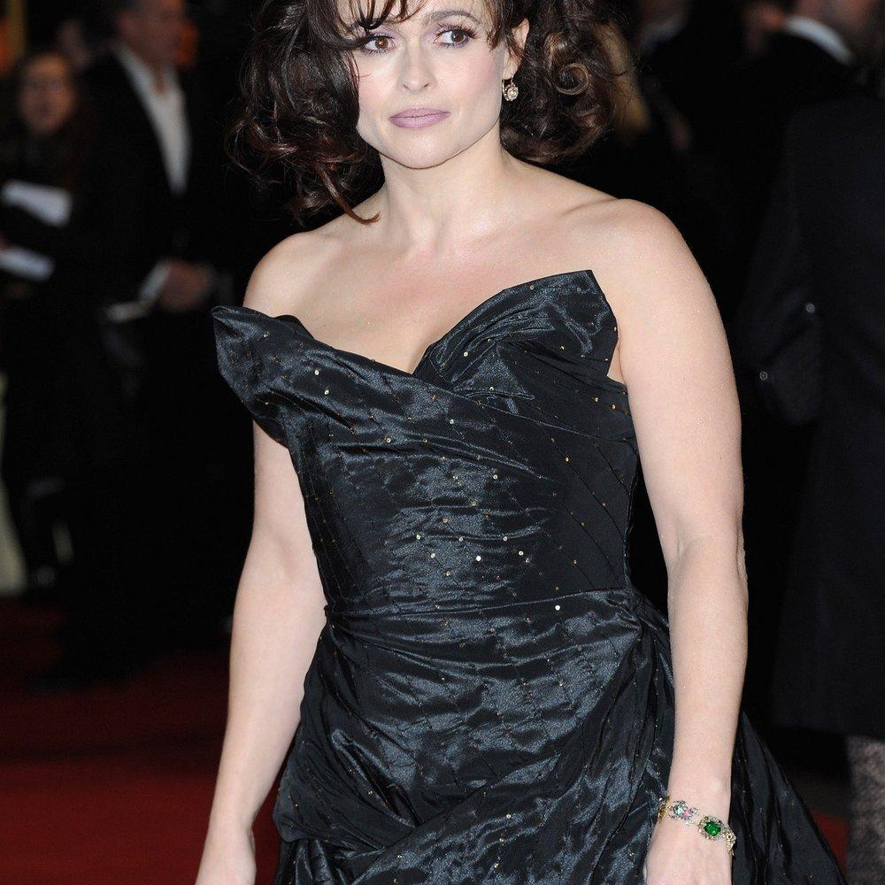 Helena Bonham Carter findet ihr Gesicht heute schöner als früher