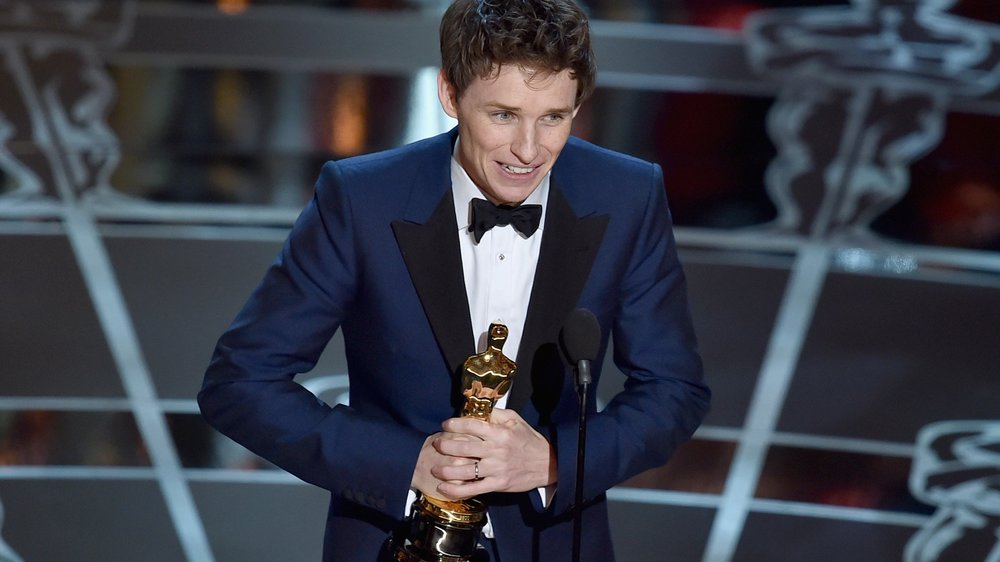 Eddie Redmayne ist von seinem Oscar überwältigt