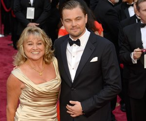 HOLLYWOOD, CA - MARCH 02: Leonardo DiCaprio (R) and Irmelin Indenbirken (L) attend the Oscars held at Hollywood & Highland Center on March 2, 2014 in Hollywood, California. (Photo by Kevork Djansezian/Getty Images)