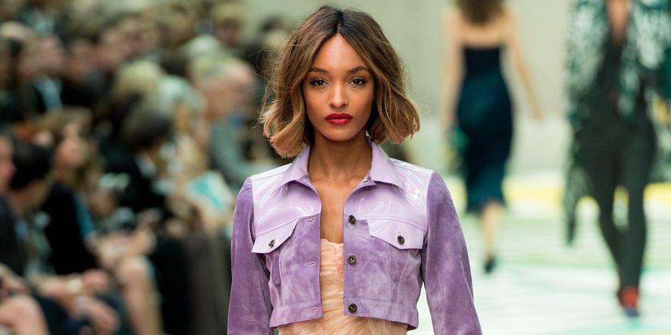 """London Fashion Week: Burberry Prorsum zeigt eine """"Bienen und Blumen""""-Kollektion"""