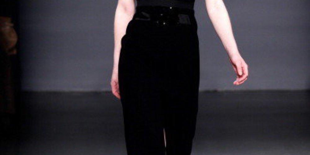 Victoria, Victoria Beckham auf der New York Fashion Week 2013 mit einem Kleid