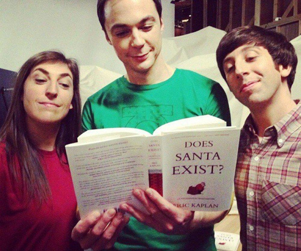 Big Bang Theory: Existiert der Weihnachtsmann wirklich?