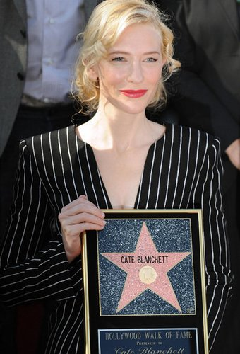 Die Australierin Cate Blanchett ist auf dem Walk of Fame vertreten
