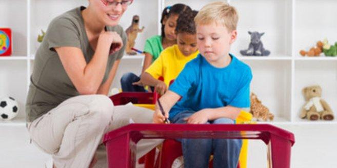 Unternehmen beteiligen sich an der Kinderbetreuung.