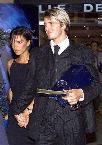 David Beckham nach der UEFA-Gala