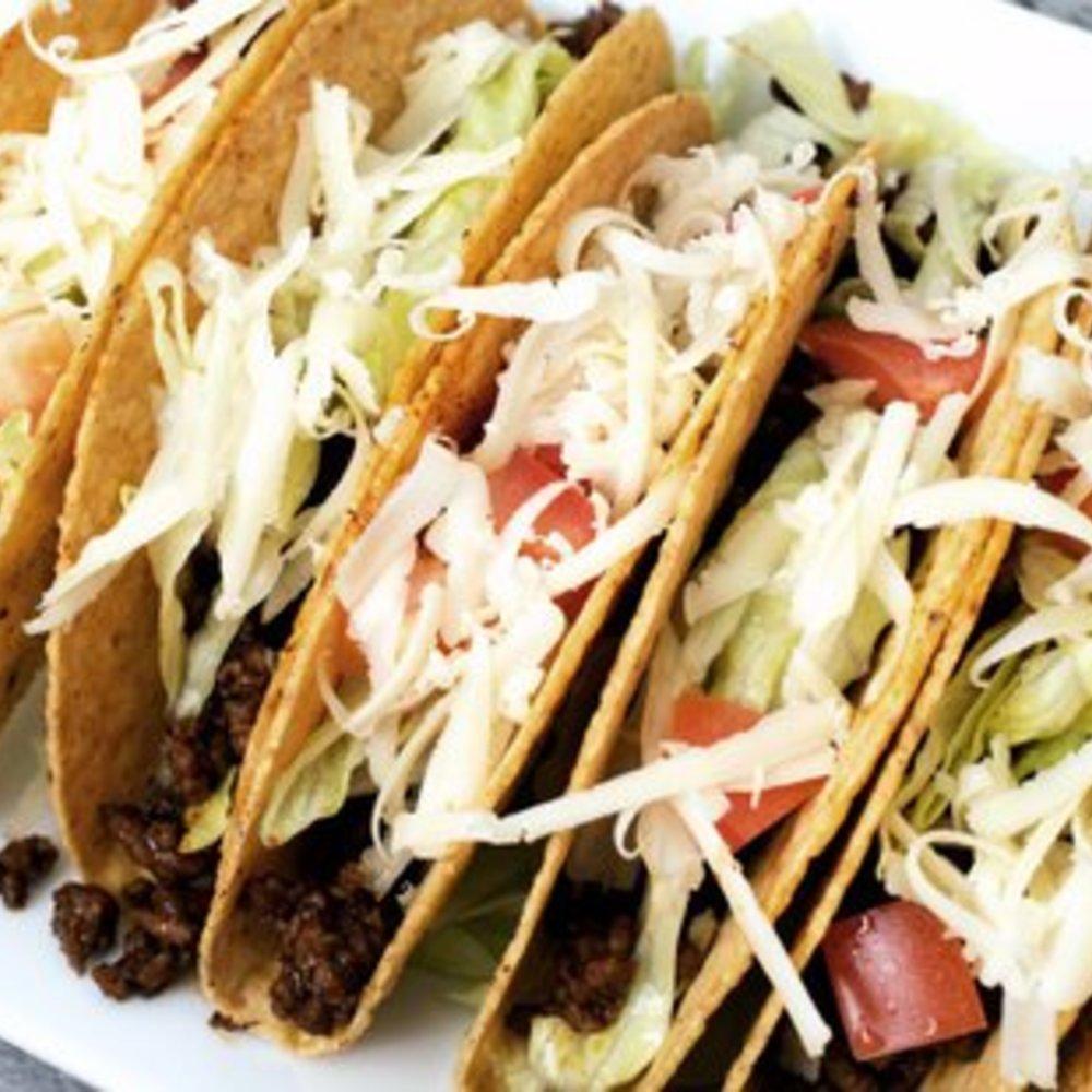 Tacos mit Hackfleisch