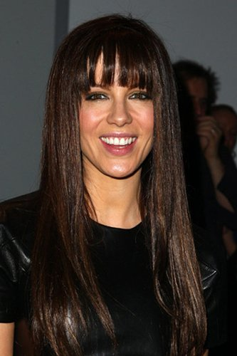 Kate Beckinsale: Sleek Look mit Pony