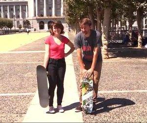 Mami widerlegt Stereotype und lernt Skateboard fahren