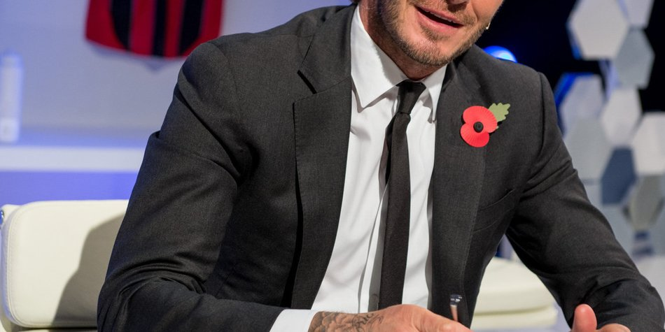 David Beckham will in London bleiben
