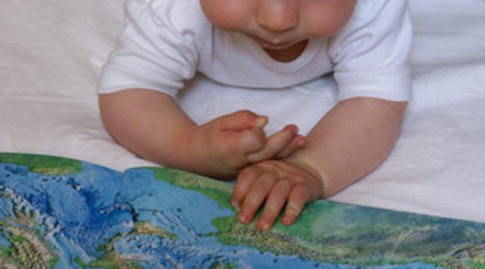 Baby symbolisch geehrt