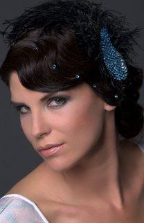 Glamouröse Hochsteckfrisur mit edlem Haarschmuck