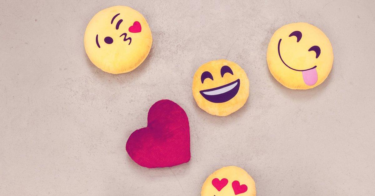 Kuss smileys und männer Tag des