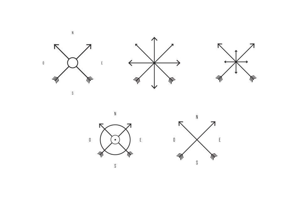 bedeutung kompass tattoo