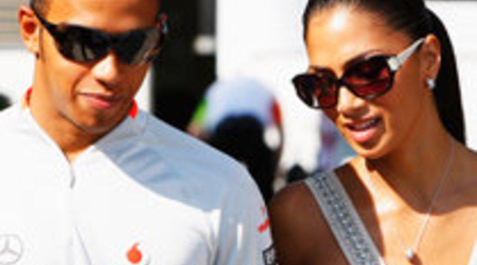 Nicole Scherzinger und Lewis Hamilton: Liebesglück?