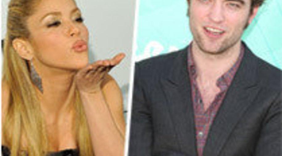 Shakira steht auf Robert Pattinson