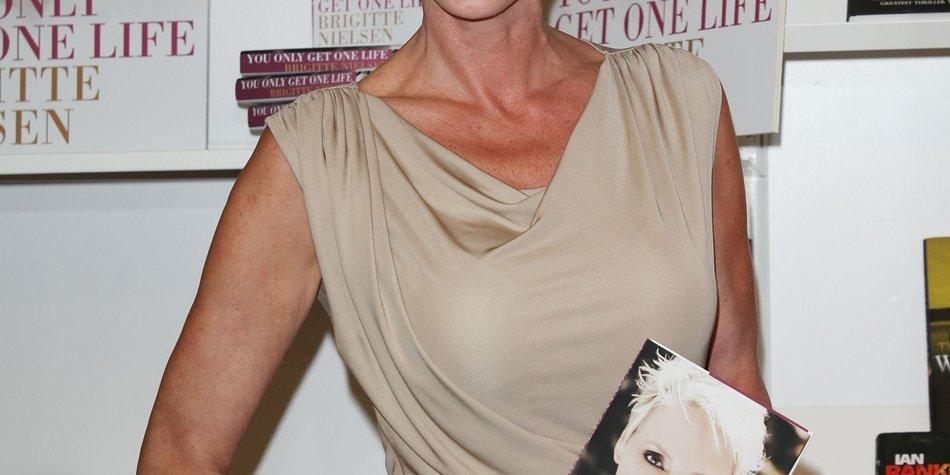 Brigitte Nielsen bleibt dank ihres Mannes trocken